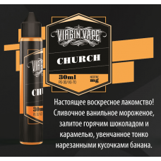 Жидкость Virgin Vape - Church - 30ml