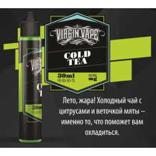 Жидкость Virgin Vape - Cold Tea - 30ml