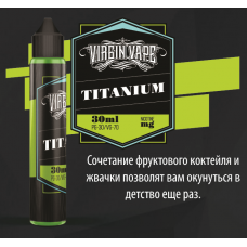 Жидкость Virgin Vape - Titanium - 30ml