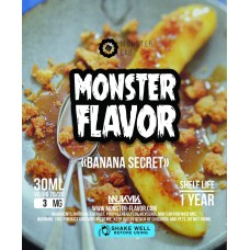 Жидкость Monster Flavor - Banana Secret
