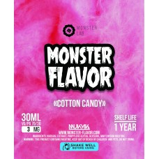 Жидкость Monster Flavor - Cotton Candy