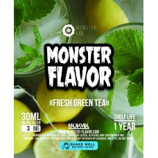 Жидкость Monster Flavor - Fresh Green Tea
