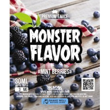 Жидкость Monster Flavor - Mint Berries