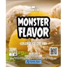 Жидкость Monster Flavor - Orange Ice Cream