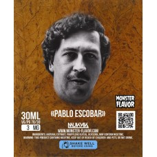 Жидкость Monster Flavor - Pablo Escobar