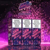 Jam Monster Mixed Berry 3 мг, 100 мл VG/PG 75/25